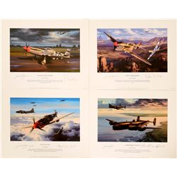 WWII Limited Edition Aircraft Prints  #109445