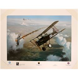 First Victory, American Fighter Aces, Lt Vaughn  #109426