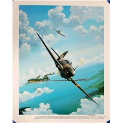 James Morehead P-40 attack  #109424