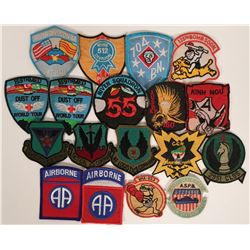 Military Embroidered Patches (18)  #109477