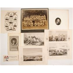 Military Engravings & Photograph  #77641