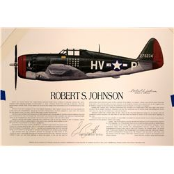 Robert Johnson, Fighter Ace  #109433