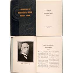 History of Browning Guns from 1831, Hardback, 1942  #109205