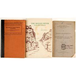 Mojave, CA Region Books (3)  #63143