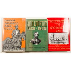 Georgia Gold Rush Books (3)  #58604