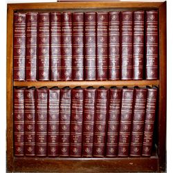 Books / Encyclopedia Britannica /  & Atlas. / 2 Items.  #106254