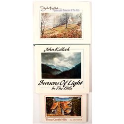 3 Signed John Kollock Books  #56115