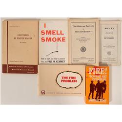Fire Prevention &  Disaster Behavior / 6 Items.  #109709