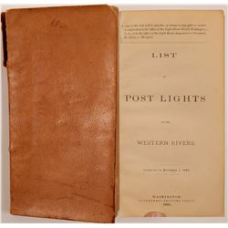 List of Lights on the Ohio, Kanawha and Tennessee Rivers Book  #106361