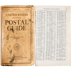 U.S. Official Postal Guide (Book)  #64205