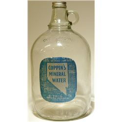 """Mineral Water / Coppin""""s Mineral Water  #89519"""