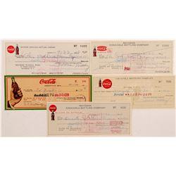 Coca Cola Bottling Co. checks  #106321