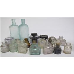 Ink Bottle Collection / 20 pieces  #78824