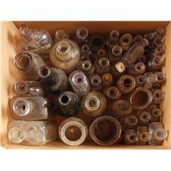 Medicine Bottles / Grab Bag/ 57 Items.  #78845