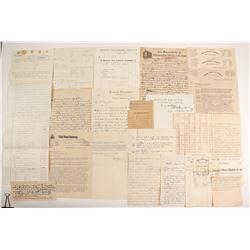 Swan, George Correspondence, 1867-1906  #90967