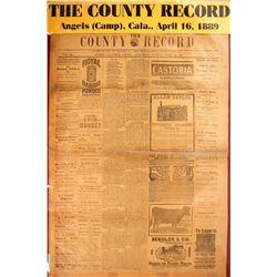 California Newspapers (3)   #59622