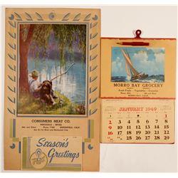 Vintage Calendars  #102751