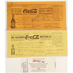 Early Coca Cola Ephemera (3 count)  #60036