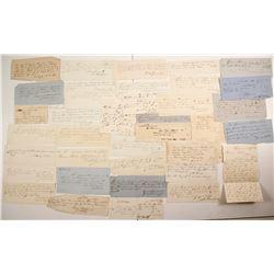 1860s Louisville, Kentucky Correspondence   #77374
