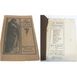 Horace K. Turner Art Exhibit Catalog  #54405