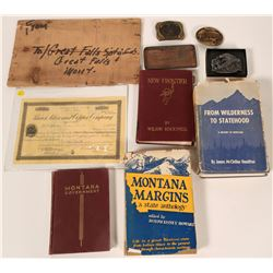 Nice Group of Montana Collectibles  #110294