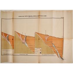 Comstock Mines Cross Section Map  #99681