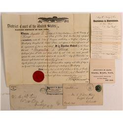 Aug. W. King, Banker & Mining Man, Ephemera  #107344