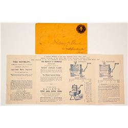 c.1869 Ad Pamphlet for Clothes Wringer  #77314