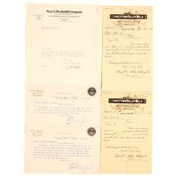 Letters from Jamestown North Dakota  #64361