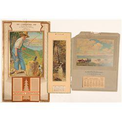Vintage Calendars (3)  #102750