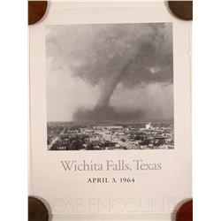 Tornado of Witchita Falls Texas Poster  #91361