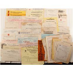 Utah Billheads & Receipts  #68014