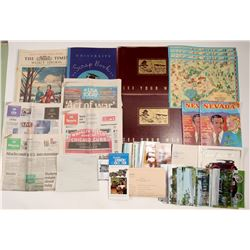 Ephemera / American And More / 10 Items  #106247