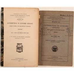 Short Papers & Reports / U.S.G.S. / 2 Items.  #109683
