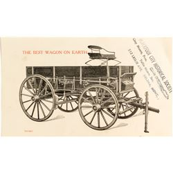 Trade Card for The Bain Mountain Wagon   #50312