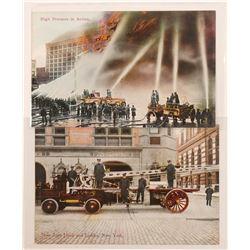 Nice Firefighter Postcards (2)  #105351