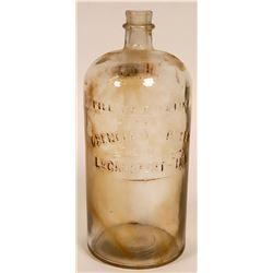 Obenchain-Boyer Glass Bottle  #108522