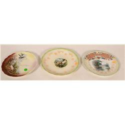 Group of 3 Montana Souvenir Plates, McCabe, Montana  #110255