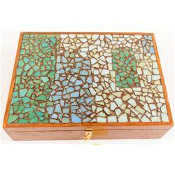 Beautiful Walnut Box  #55333