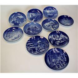 Christmas Plate Collection (10)  #110789