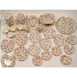 German Tea Set and Dessert Plates  #106396