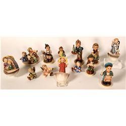 Group of 10 Older Hummels, 1950-1972  #110153