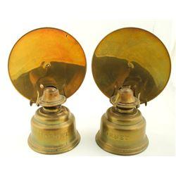 Hornet Hand Oil Lamps (2)  #86478
