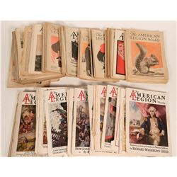 Large Group of Am. Legion Weekly's & Monthly's from 1920's  #110261