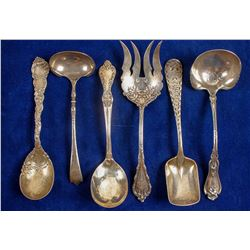 Sterling Soup Spoons and Ladles  #89877