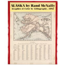 Map of Alaska  #72001
