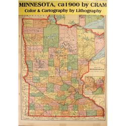 Minnesota Map  #59605