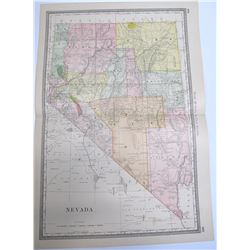 Map of Nevada  #54460