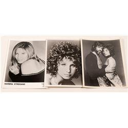 Photos /  Kristofferson & Streisand / 3 Items.  #105407