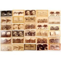 Pikes Peak Stereoview Collection (28 pieces)  #53224